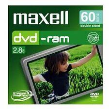 ($0 P & H) Maxell - 8cm Camcorder DVD-RAM 60min 1 Pack Jewel Case