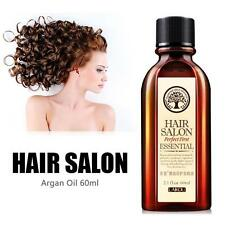 100% Pure 60ml Argan Oil Hair Care Nourish Scalp Smooth Damaged Dry Repair SS US
