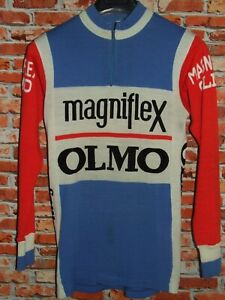 Shirt Bike Shirt Cycling Heroic Vintage 70'S Magniflex Elm 50% Wool