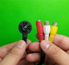 HD Mini CCTV Audio IR FPV Camera 1.7mm Lens Wide Angle 650TVL Night Vision 8 LED