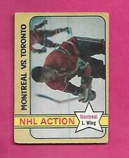 1972-73 OPC # 128 CANADIENS FRANK MAHOVLICH ACTION VG CARD (INV# C4173)