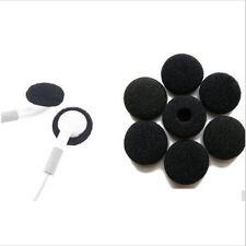20x Replacement Sponge Foam Earpad Headset Ear Cover Ear bud Tips 15mm Black Hot
