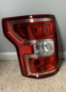 2018-2020 Ford F150 XLT Left Passenger Tail Light OEM Original Halogen.