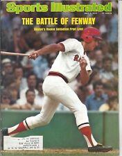 1975 7/7 Sports Illustrated magazine baseball Fred Lynn, Boston Red Sox VG