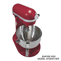 KitchenAid KP26M1XER Professional 600 Series 6-Quart Stand Mixer, Empire Red