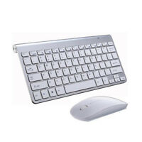 Ultra Slim 2.4GHz Wireless Keyboard With Mouse Mice Kit Set For PC Computer TOP