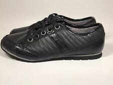 Women's Rockport Fashion Sneaker Size US 7 EUR 37.5 - Black - Print Shoes * Rare