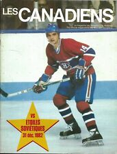 Montreal Canadiens - CSKA Moscow Red Army Russia 1982 Friendly Match 14 Tremblay