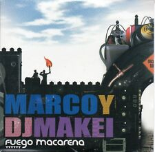 "MARCO SKINNY Y DJ MAKEI ""FUEGO MACARENA"" RARE CD SEALED / HIP HOP - RAP SEVILLA"