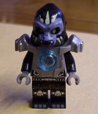 Lego Legends of Chima - Gorzan Figur mit Rüstung Armor silber ( Gorsan ) Neu