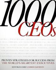 1000 C.E.O.s, EDITOR-Davidson, 2009, 1st American[6A]
