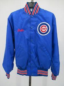 H0566 VTG 80s 90s Chicago Cubs MLB-Baseball Windbreaker Jacket Size S