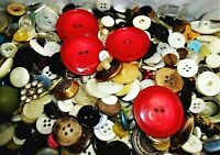 100s and 100s Mixed Button Buttons Lot Sew Collect Bakelite Celluloid Metal MOP