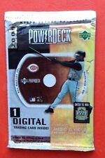 2000 UD PowerDeck Digital Card Pack Ken Griffey Jr Derek Jeter Cal Ripken Auto?