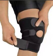 neoprene patella black elastic knee support, brace fastener, gym sport
