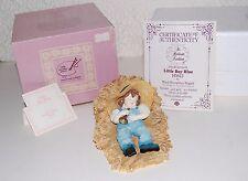 "Maud Humphrey Bogart ""Little Boy Blue"" Figurine H5612 COA +Papers Hamilton Gifts"