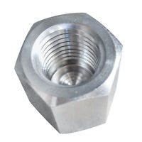"""HFS(R) End Cap 1/2"""" Npt Female - Stainless Steel 304 Pipe Fitting Hex Head"""
