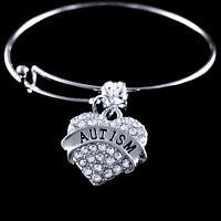 Autism bracelet huge sale Autism awareness Autism awareness bracelet