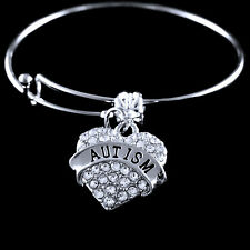 Autism charm bracelet Autism  Autistic awareness Jewelry Autism awareness gift