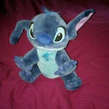 "Large Plush 13"" Disney Lilo Stitch Blue Alien Dog"