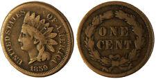 USA ,  ONE  CENT    1859