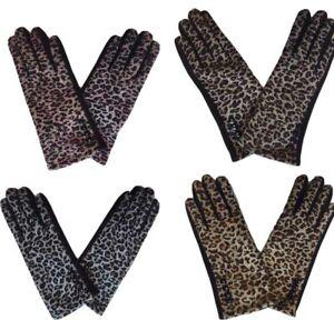 Brand New Thomas Calvi Ladies Leopard Print Gloves Great for Winter FREE P&P!!!