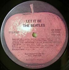 The Beatles - Let It Be 1970 US LP