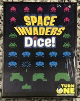 Space Invaders Dice! Turn One Gaming, by Daryl Andrews, 2017, NEW & Sealed