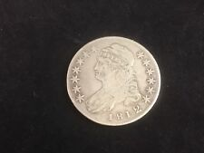 1812/1 Capped Bust Half Dollar 50 Cents Var-1 Small 8