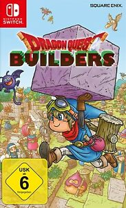 Nintendo Switch - Dragon Quest Builders boxed