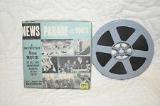 CASTLE FILMS # 1904 NEWS PARADE OF 1966 SUPER  8 MM B&W FILM
