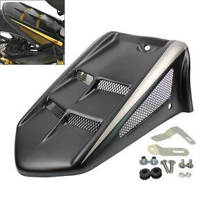 Rear Wheel Hugger Fender Mudguard Black For YAMAHA FZ09 FJ09 MT-09 Tracer 900 GT