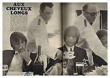 1966 : Document (Ref PA 886) : les ROLLING STONES  (2 pages)