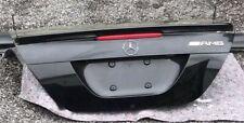 CLK W209 AMG MOPF Heckklappe Spoiler Lippe Obsidian schwarz Top Zustand