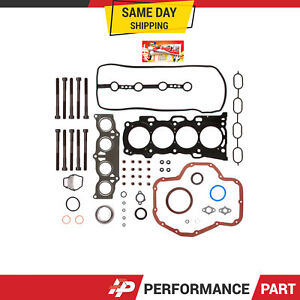 Full Gasket Set Head Bolts for Toyota Rav4 Camry Highlander Scion tC 2.4L 2AZFE