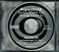 Superchunk - Here's Where The Strings Come In (CD, 1995, Merge Records) - PROMO