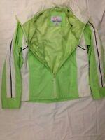 Expressions - giubbotto colore bianco e verde - Taglia 10/12 anni - USATO