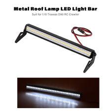 Metal Roof Lamp LED Light Bar for 1:10 RC Rock Crawler Traxxas -4 SCX10 X0H6