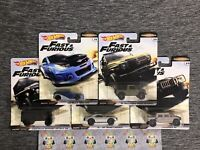 Hot Wheels 2019 Fast and Furious Off Road Car Culture Premium Complete Set of 5