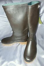 AIGLE WELLINGTON BOOTS SIZE 39 BRAND NEW TOP QUALITY BROWN WELLIES FESTIVAL DOG