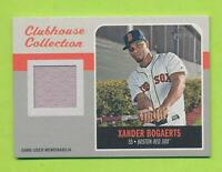 2019 Topps Heritage Clubhouse Collection Relic - Xander Bogaerts (CCR-XB)