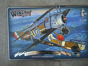 WNW Wingnut Wings Camel F.1 Le Rhone with extras