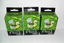 RICK AND MORTY CHIBI IN MOTION COLLECT CLIPS LOT OF (3) RANDOM NEW SEALED BOXES