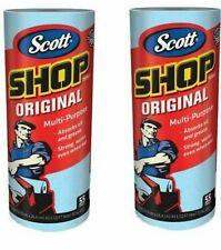 SCOTT Professional Multi Purpose Shop Paper TOWELS 2 Rolls 55 Sheets ROLL 2 ct