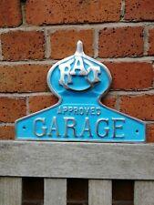 RAC cast sign RAC approved garage cast aluminium sign RAC sign VAC001