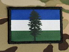 CASCADIA Flag 2x3 Hook Backed Morale Patch Washington Oregon Vancouver Humbolt