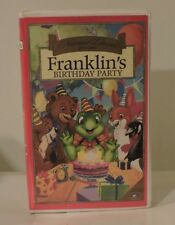 Lot of 6 1997 Nelvana Classics Presents Franklin TV Episodes on VHS