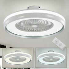 LED Ventilator Decken Lampe 3-Stufen Dimmer Tages-Licht Lüfter Kühler Leuchte