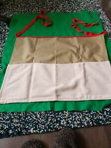 Gardening Apron - With front Pockets - Hand Made