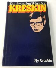 The Amazing World of Kreskin by Kreskin (1973 HC; BCE) Telepathy Clairvoyance